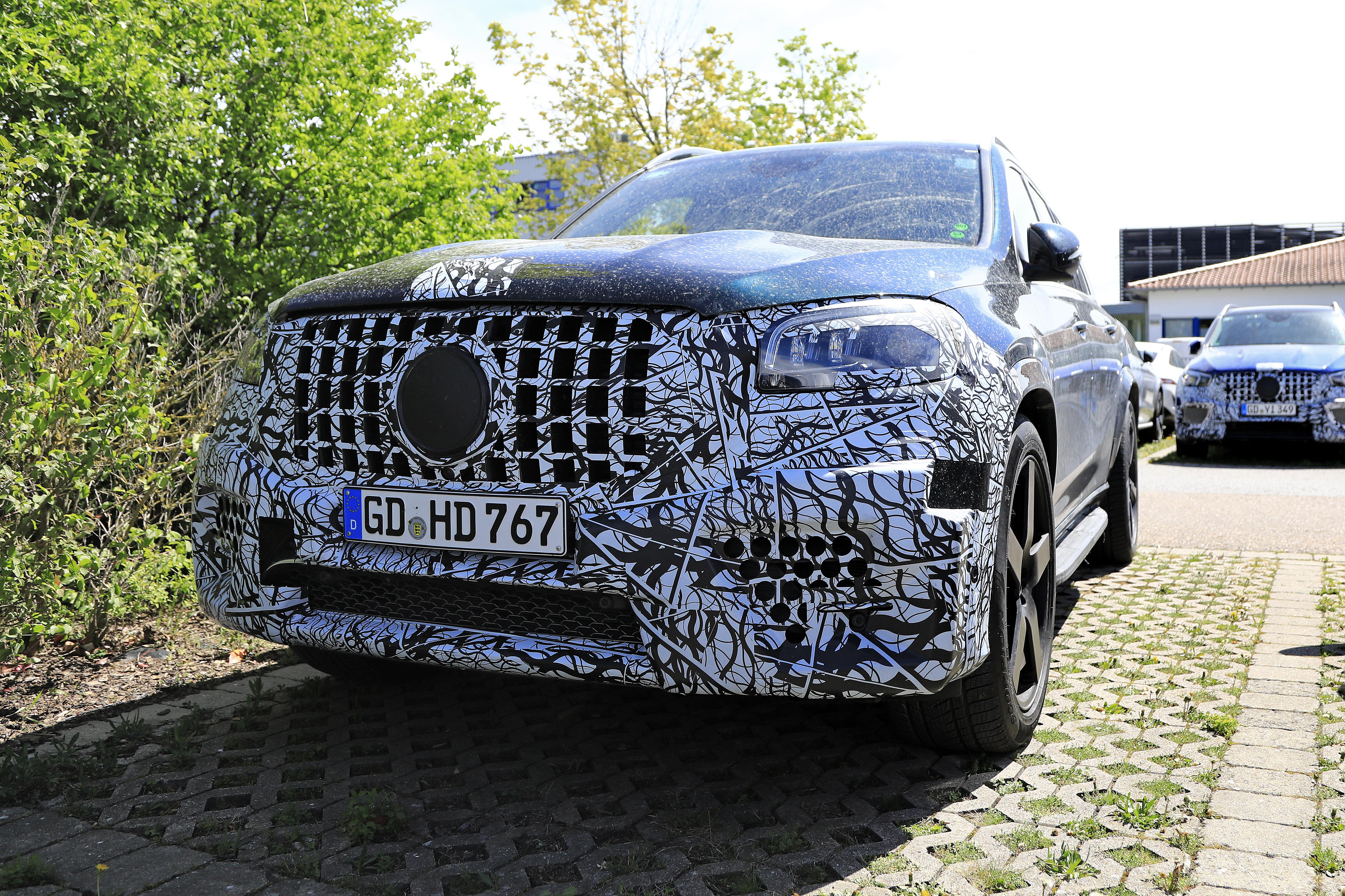 Mercedes-AMG GLS63 2020 - Le prime foto spia