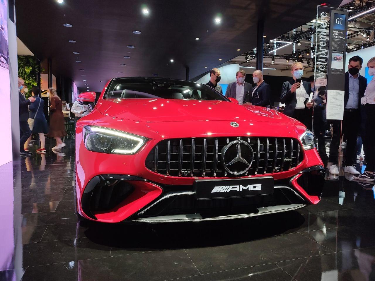 Mercedes-AMG GT 63S E Performance - Salone di Monaco 2021