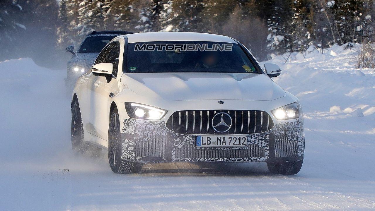 Mercedes AMG GT 73S Foto Spia