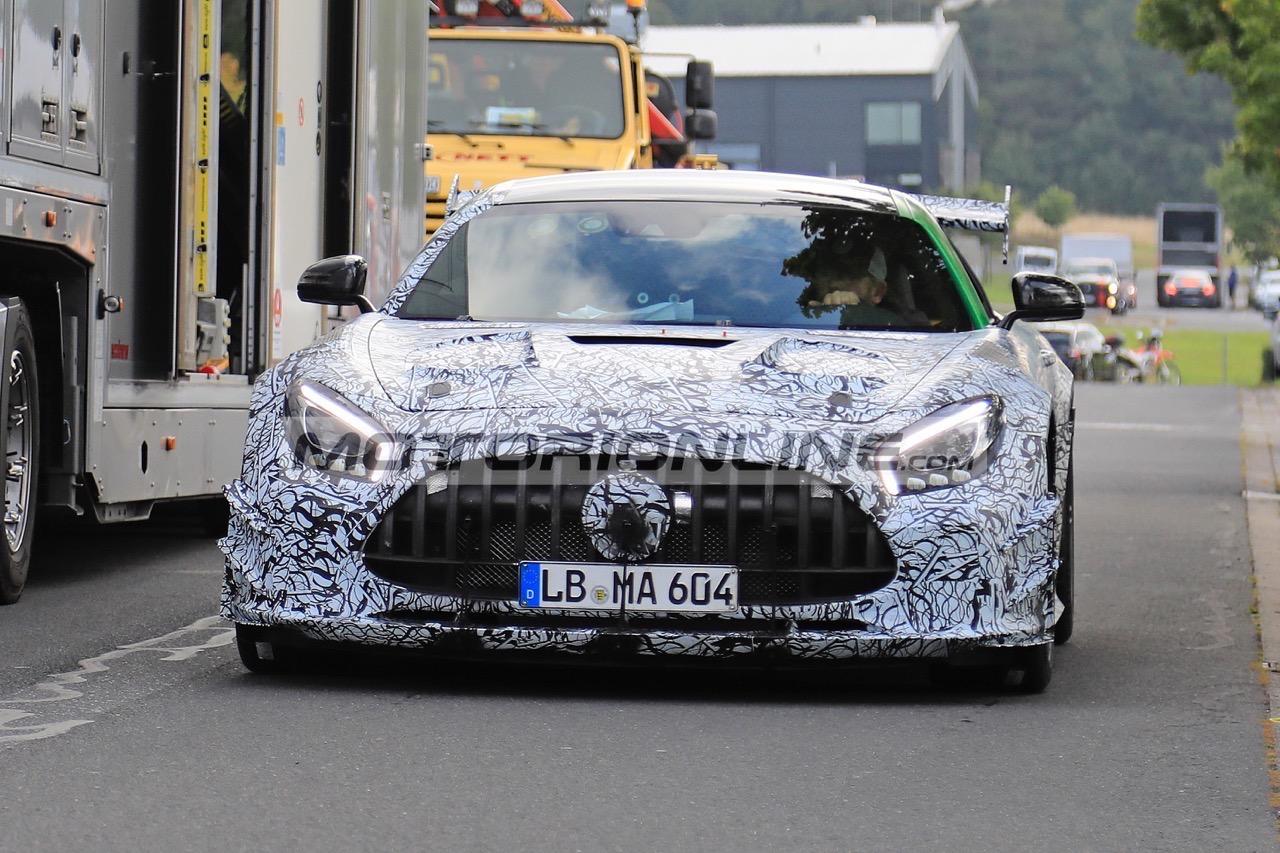 Mercedes-AMG GT Black Series - Foto spia 18-9-2019