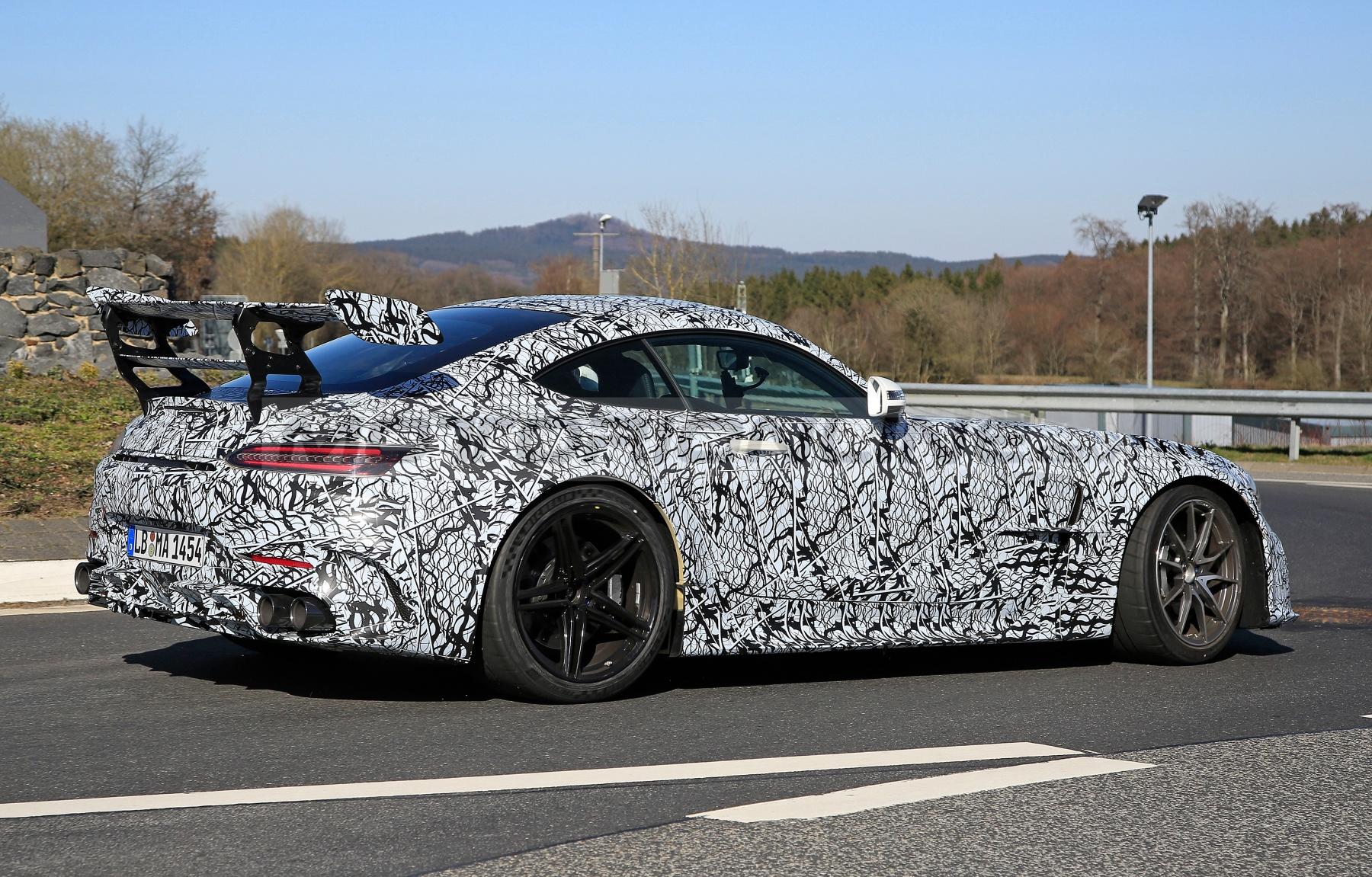 Mercedes-AMG GT Black Series - Foto spia 24-03-2020