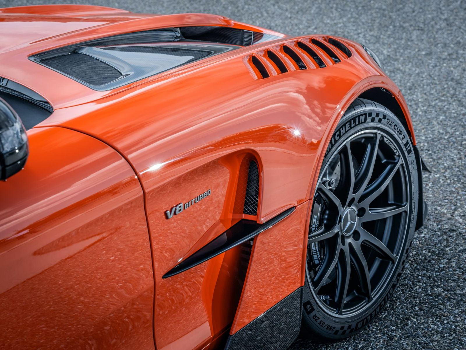 Mercedes-AMG GT Black Series - Foto ufficiali