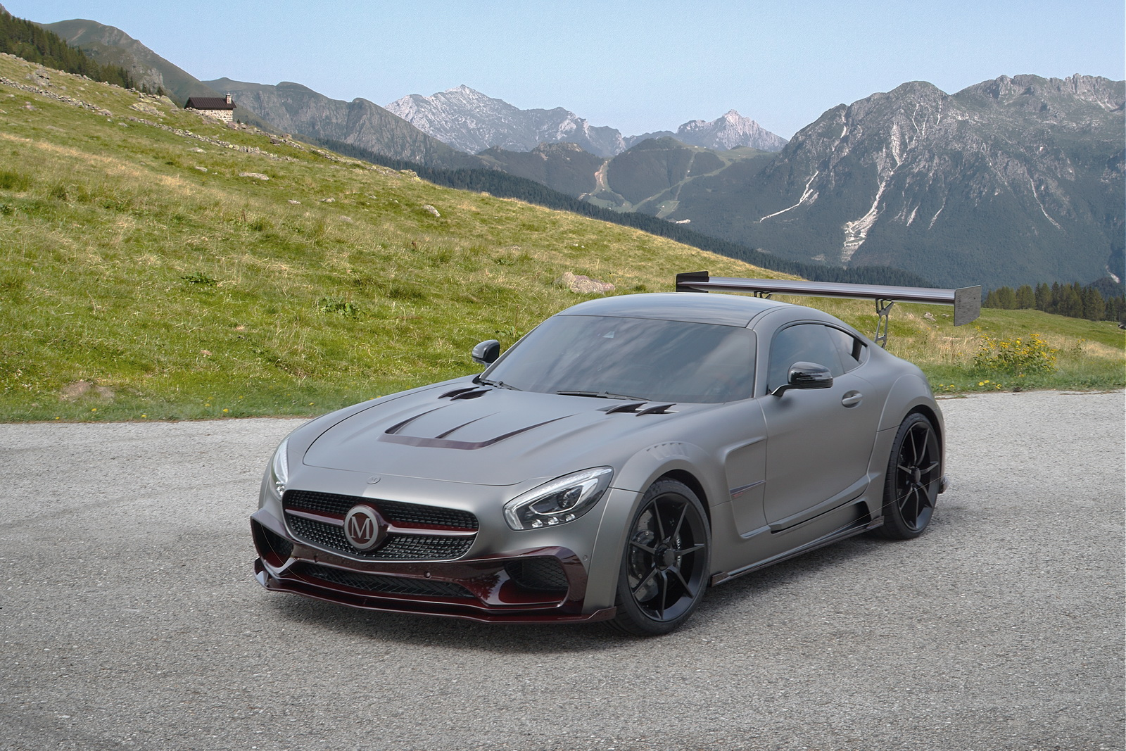 Mercedes AMG GT S Mansory
