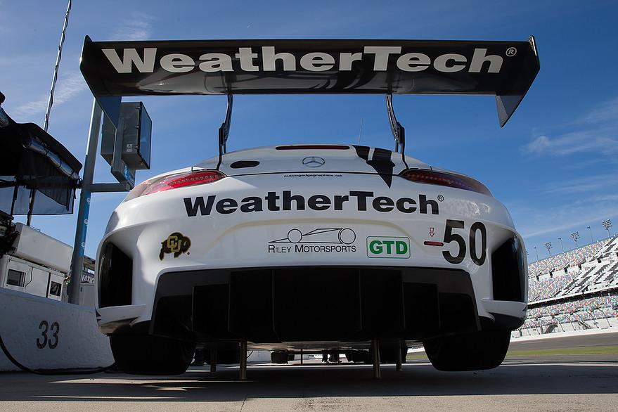 Mercedes AMG GT3 - collaudi a Daytona in vista del debutto nell'IMSA WeatherTech Sportscar