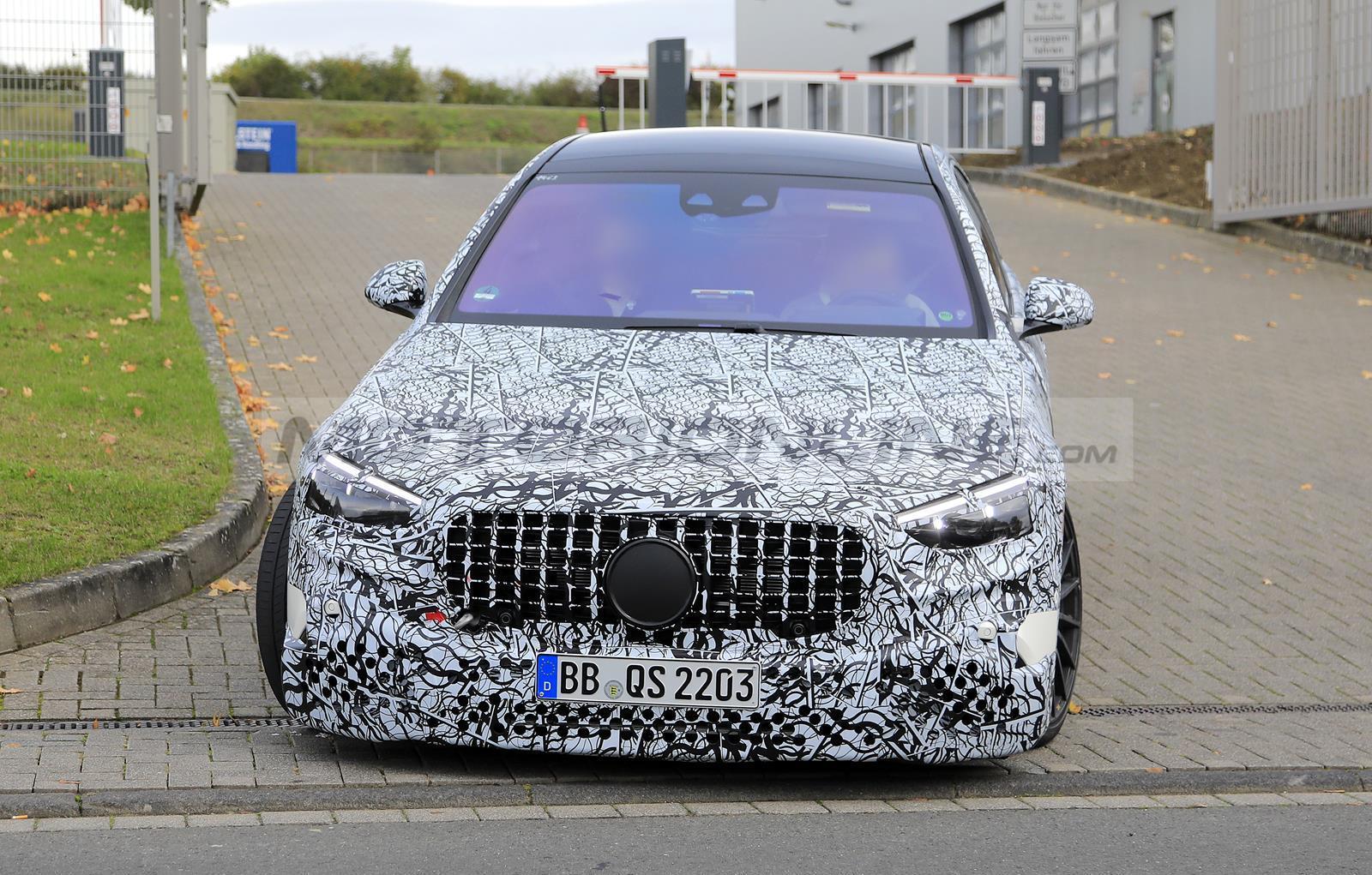 Mercedes-AMG S 63  2021 - Foto spia 26-10-2020