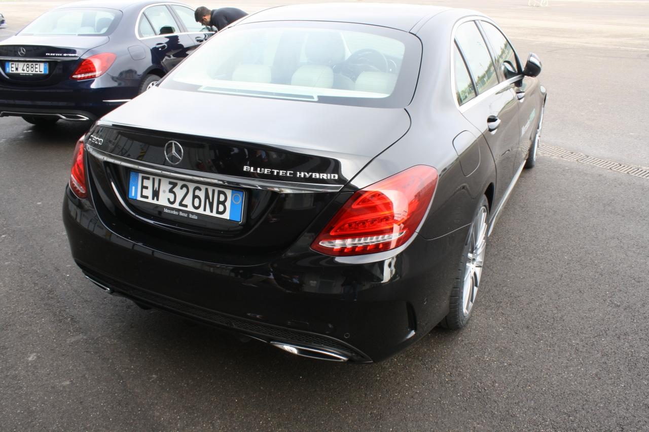 Mercedes Benz Classe C Hybrid Primo Contatto 2014 9 100