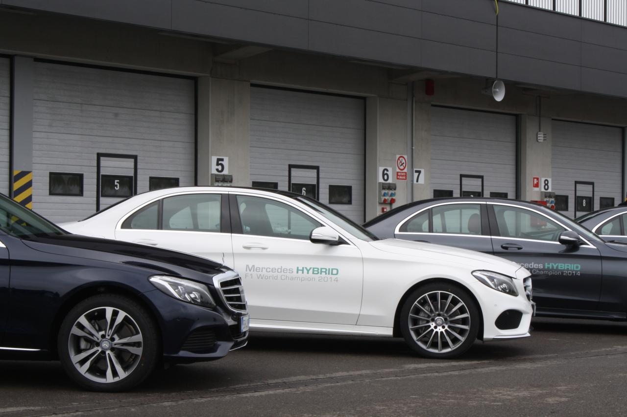 Mercedes Benz Classe C Hybrid Primo Contatto 2014 81 100