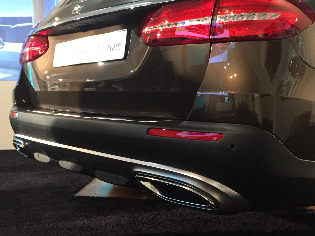 Mercedes-Benz Classe E 4MATIC All-Terrain - anteprima italiana