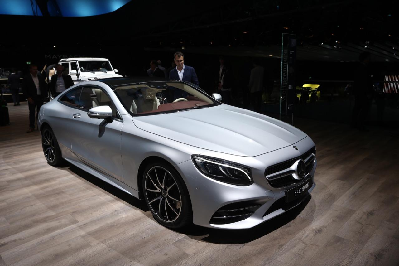 Mercedes Benz Classe S Coupe E Cabriolet 2018 Salone Di