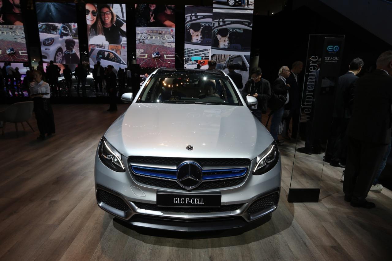 Mercedes-Benz GLC F-Cell concept - Salone di Francoforte 2017 - 1/12