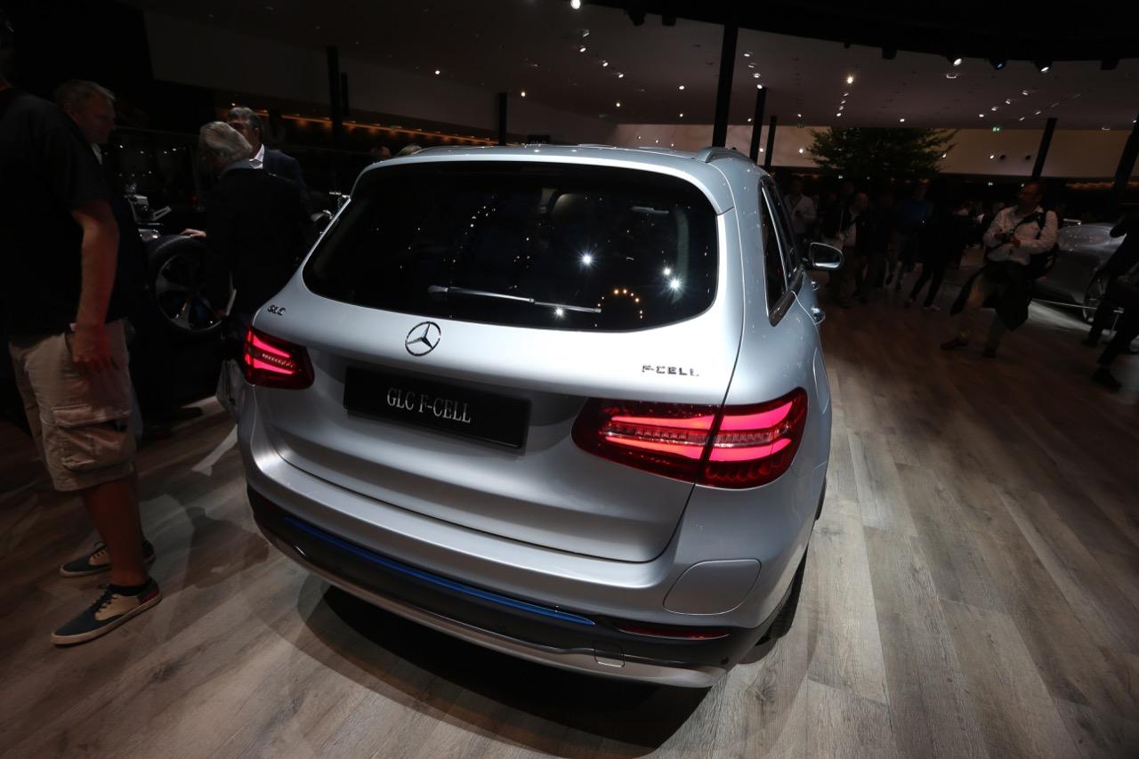 Mercedes-Benz GLC F-Cell concept - Salone di Francoforte 2017 - 3/12