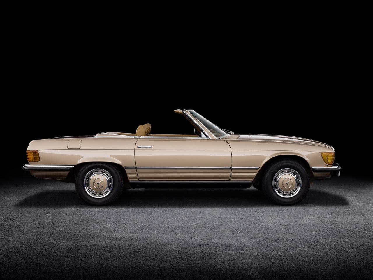Mercedes-Benz SL serie R 107 - foto storiche