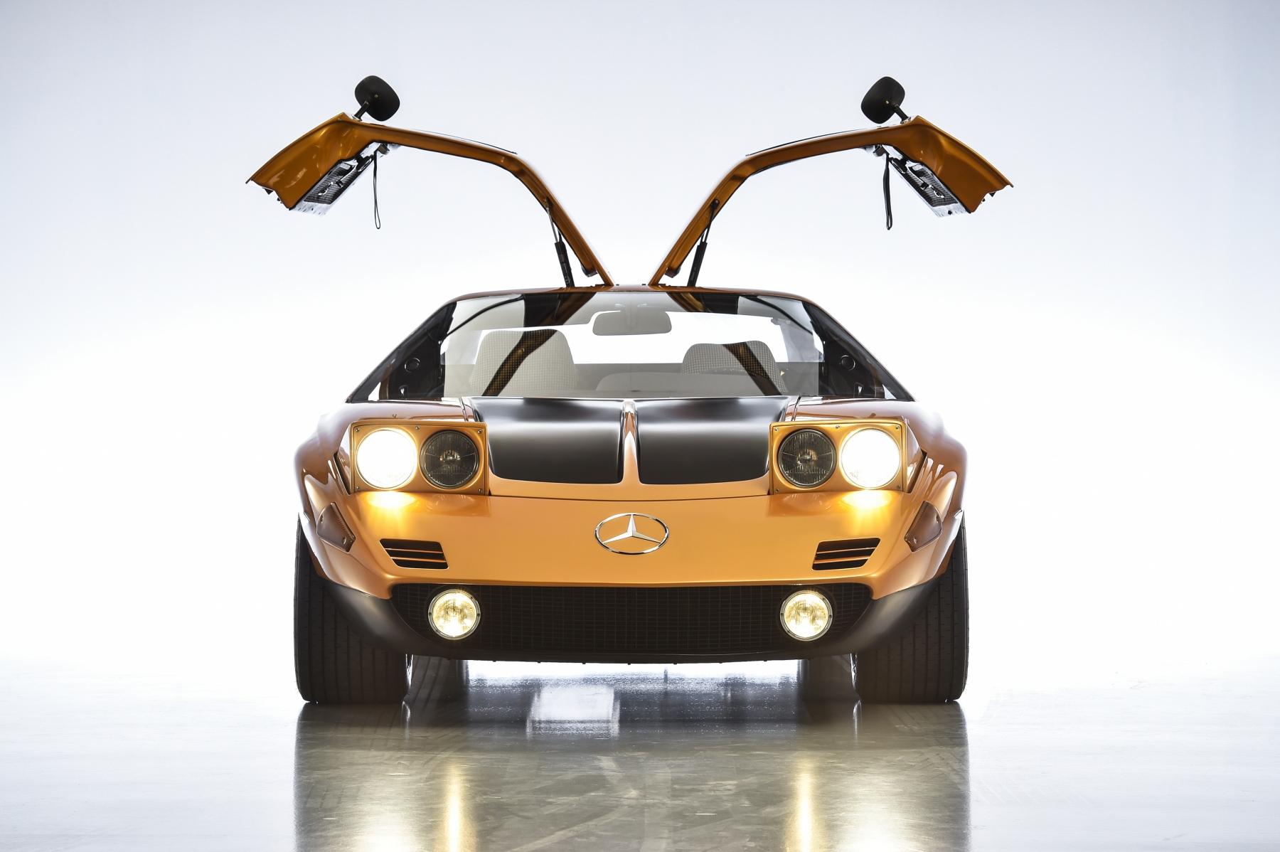 Mercedes C 111 e Vision AVTR