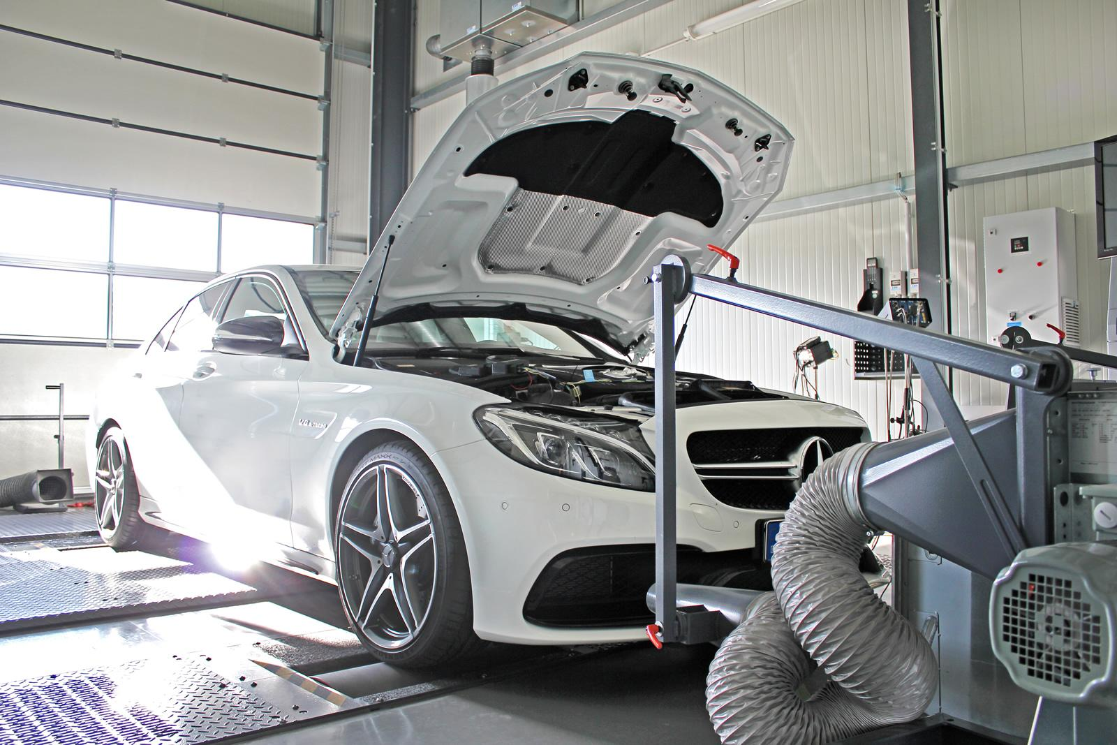 Mercedes C63 AMG by DTE-System