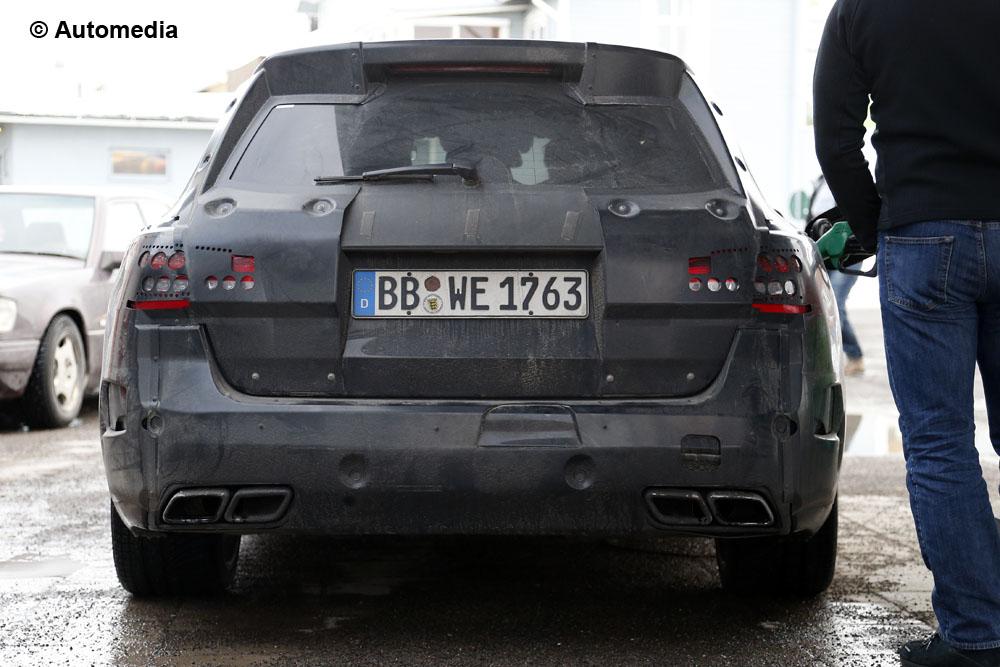 Mercedes C63 AMG Station Wagon 2015 - Foto spia 24-03-2014