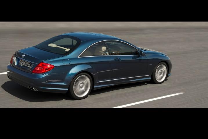 Mercedes CL 2011 restyling immagini ufficiali