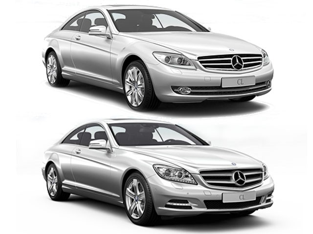 Mercedes CL 2011 restyling