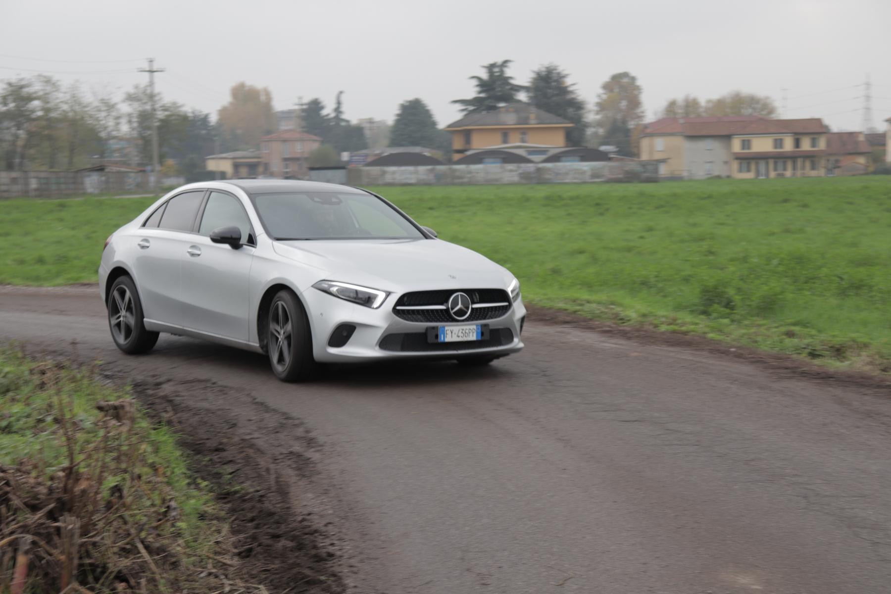 Mercedes Classe A 180 d Sedan 2019 - Prova su strada