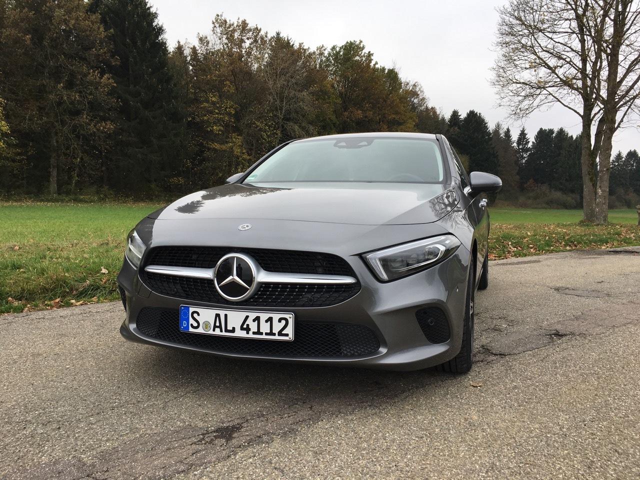Mercedes Classe A Sedan 200d - Prova Stoccarda 2019