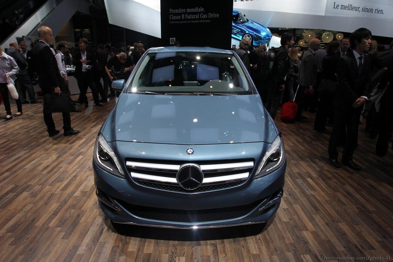 Mercedes Classe B 200 Natural Gas Drive - Salone di Parigi 2012