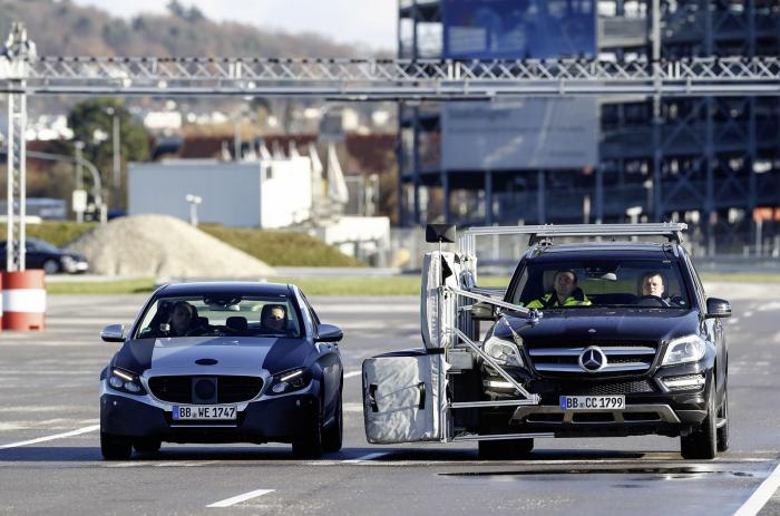 Mercedes Classe C 2014 - Test Michael Schumacher