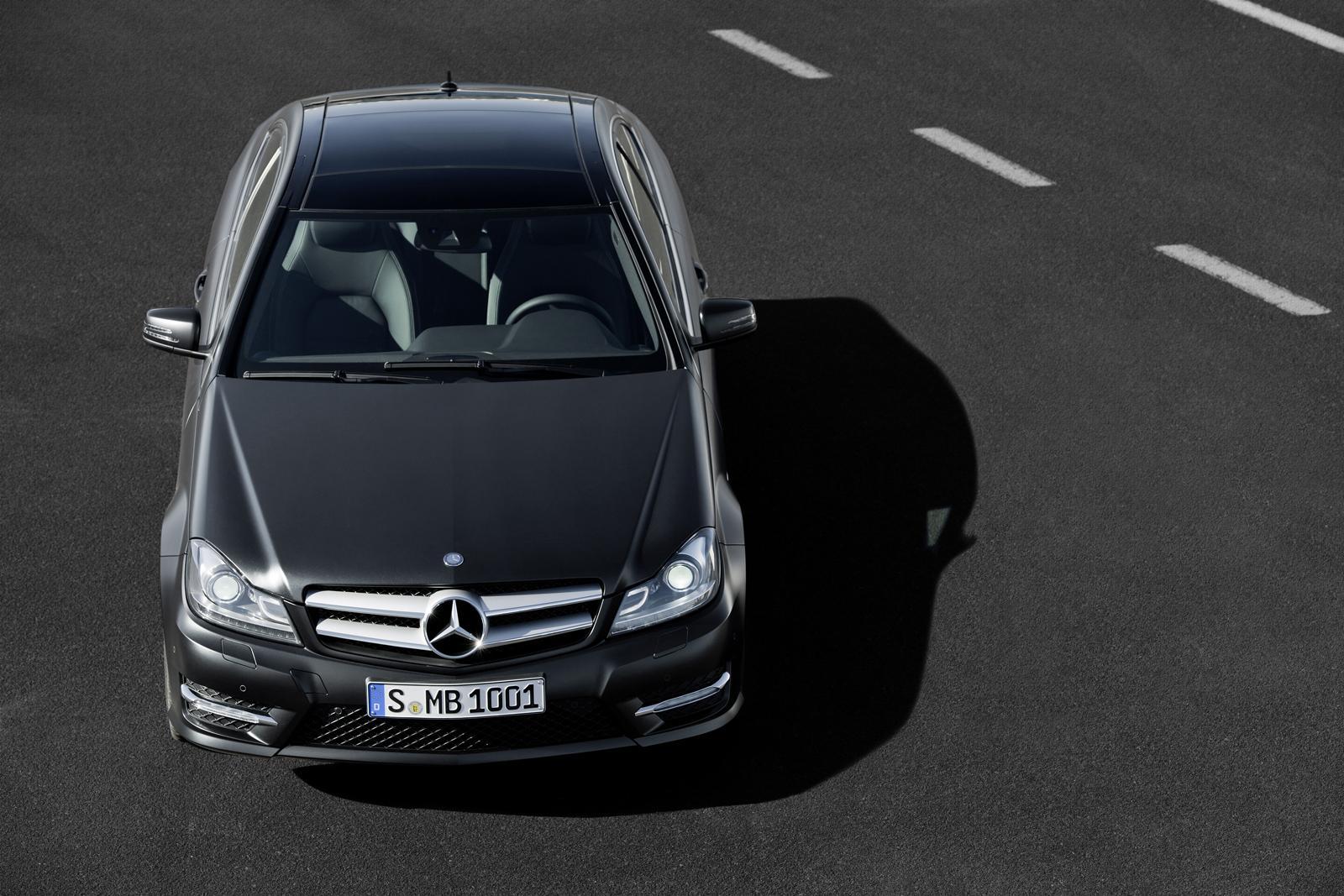 Mercedes Classe C Coupè 2012 Foto Ufficiali