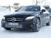 Mercedes Classe C Coupè facelift foto spia 20 gennaio 2017