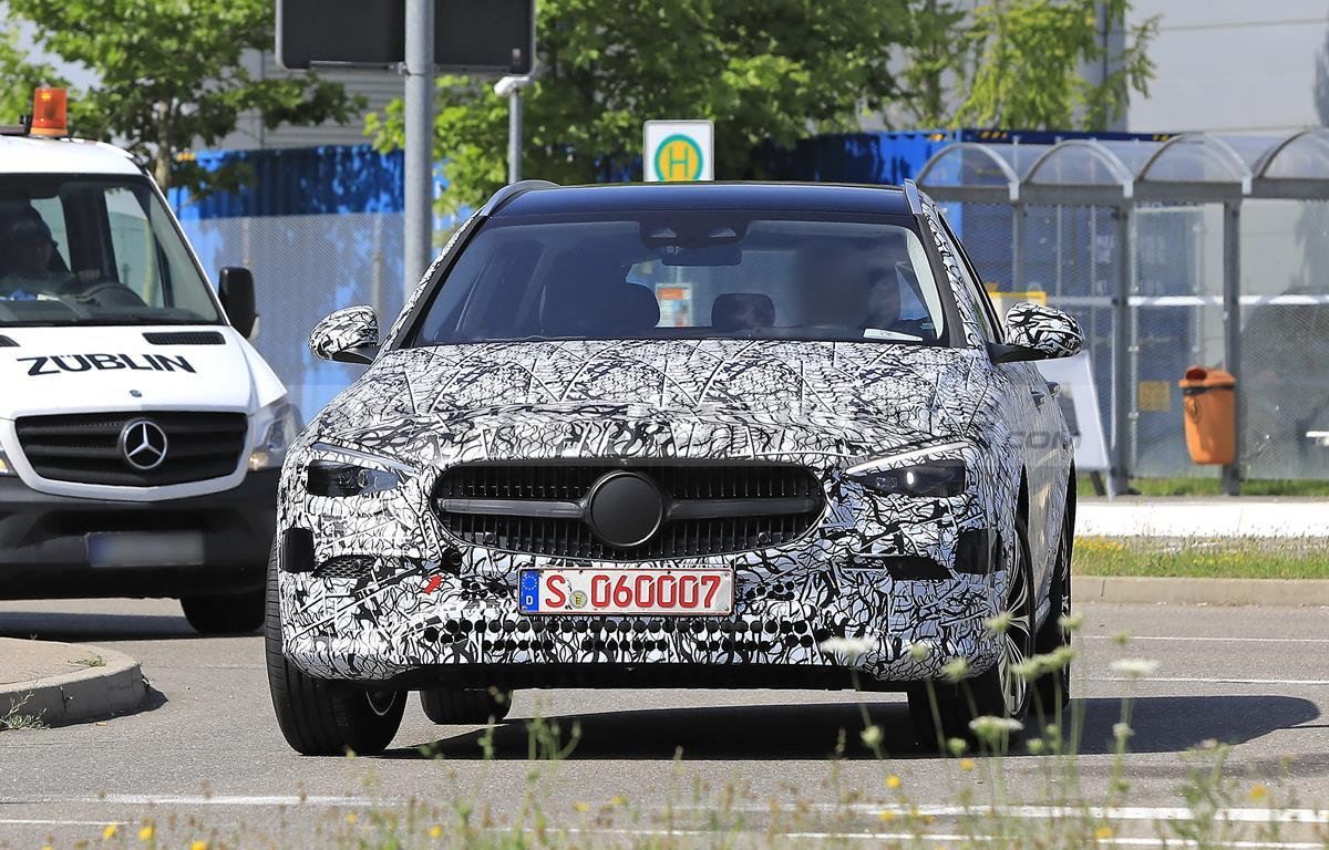Mercedes Classe C Station Wagon 2021 - Foto spia 23-07-2020