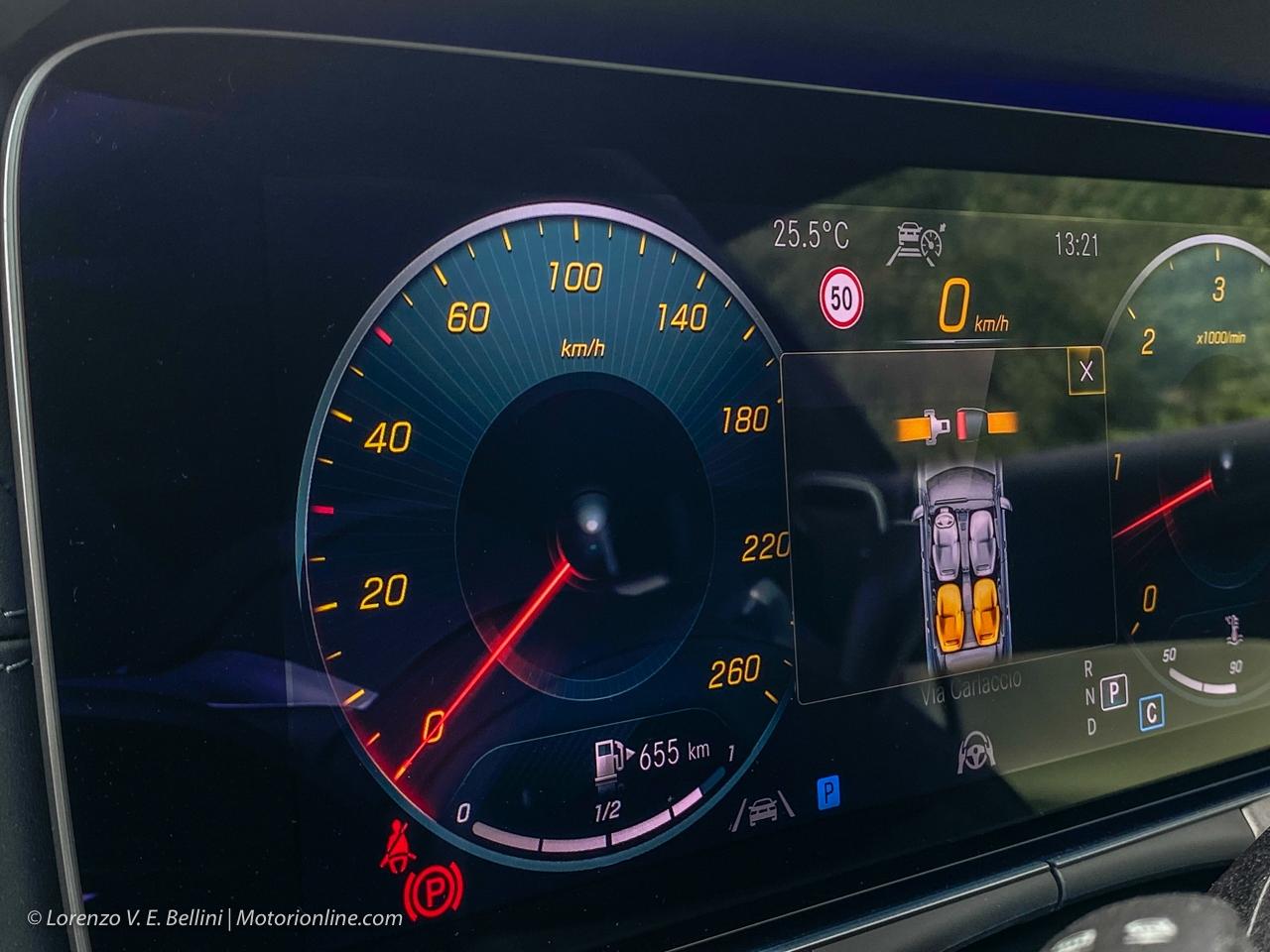 Mercedes Classe E 2020 - Prova su Strada in Anteprima