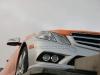 Mercedes Classe E Cabrio arancione e argento