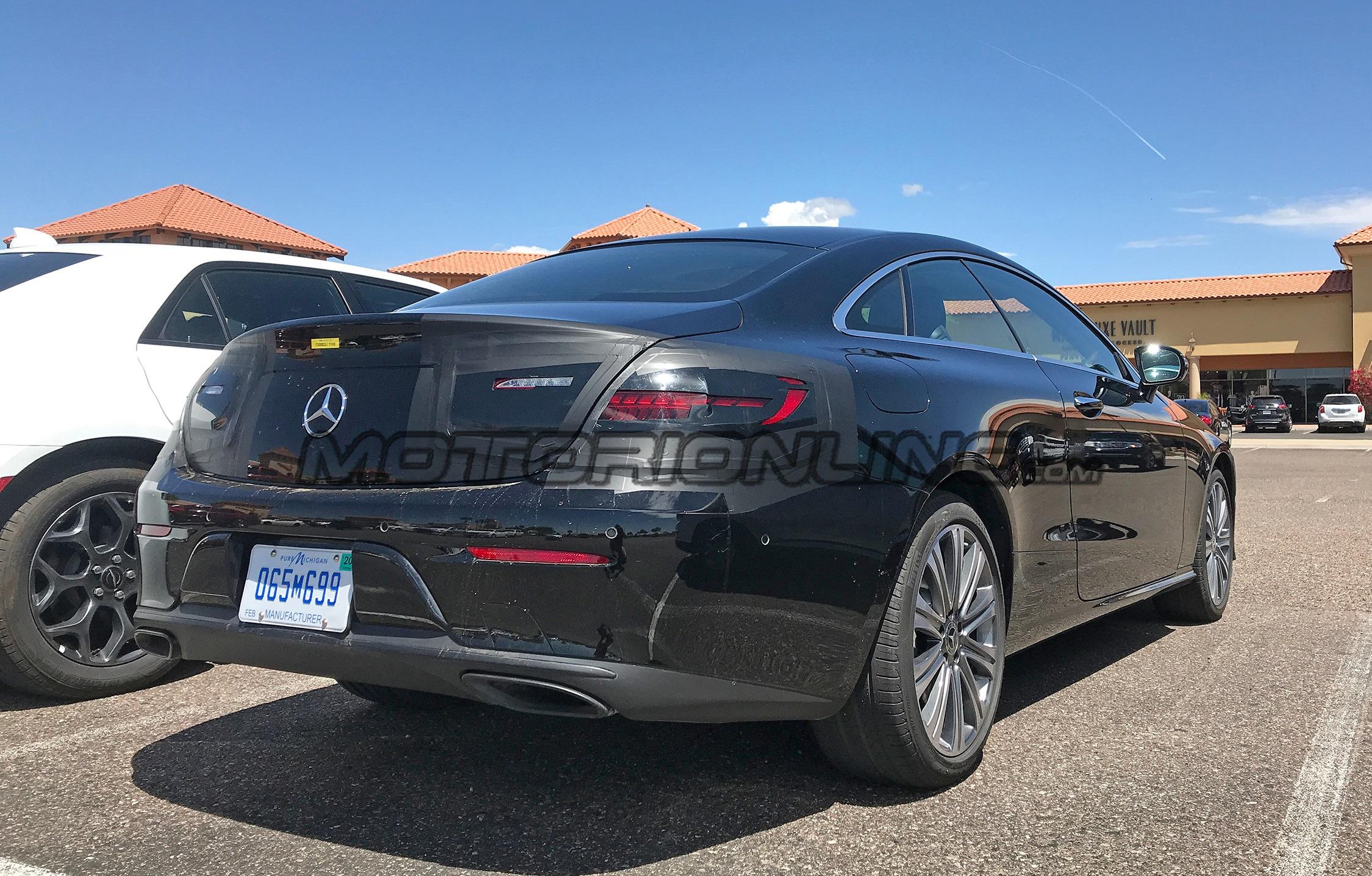 Mercedes Classe E Coupe 2020 - Foto spia 21-05-2019