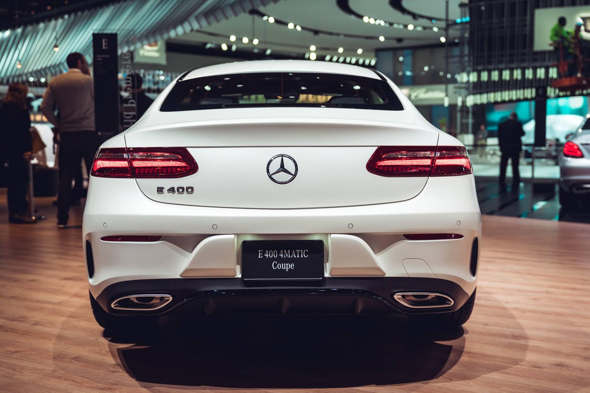 Mercedes Classe E Coupe My 2017 Salone Di Detroit 2017 11 11
