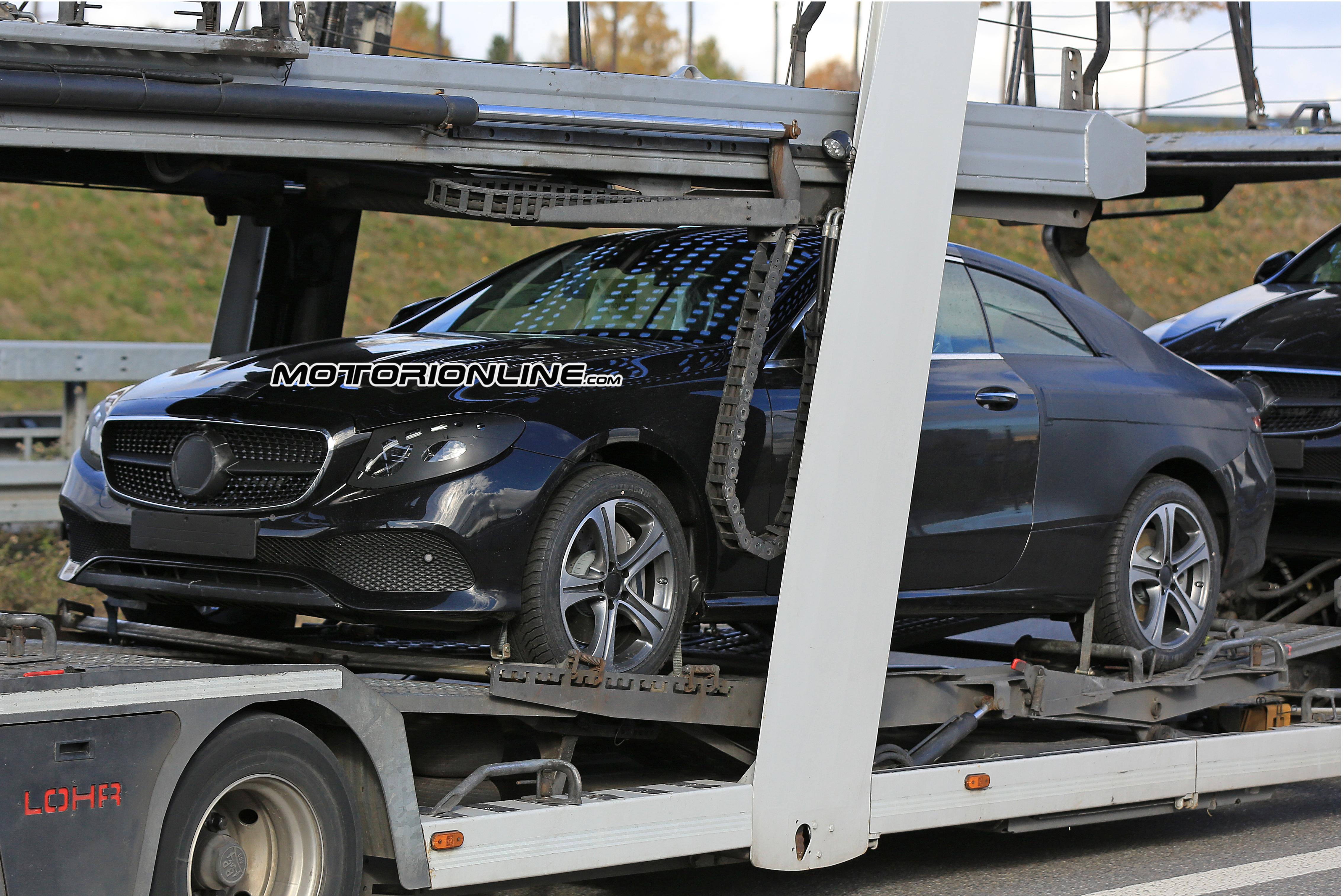 Mercedes Classe E Coupè MY 2018 foto spia 4 novembre 2016