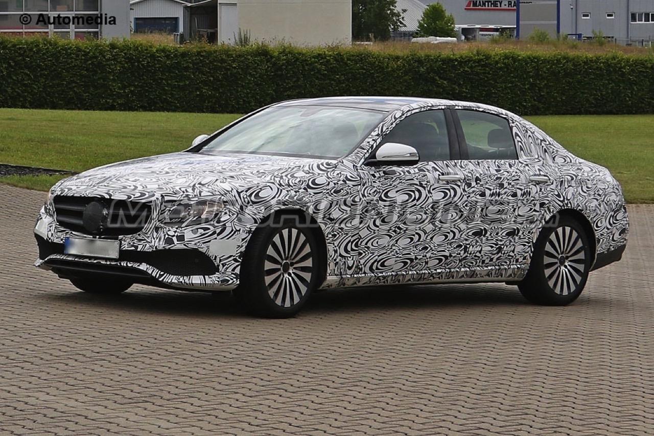 Mercedes Classe E MY 2017 - Foto spia 25-06-2015