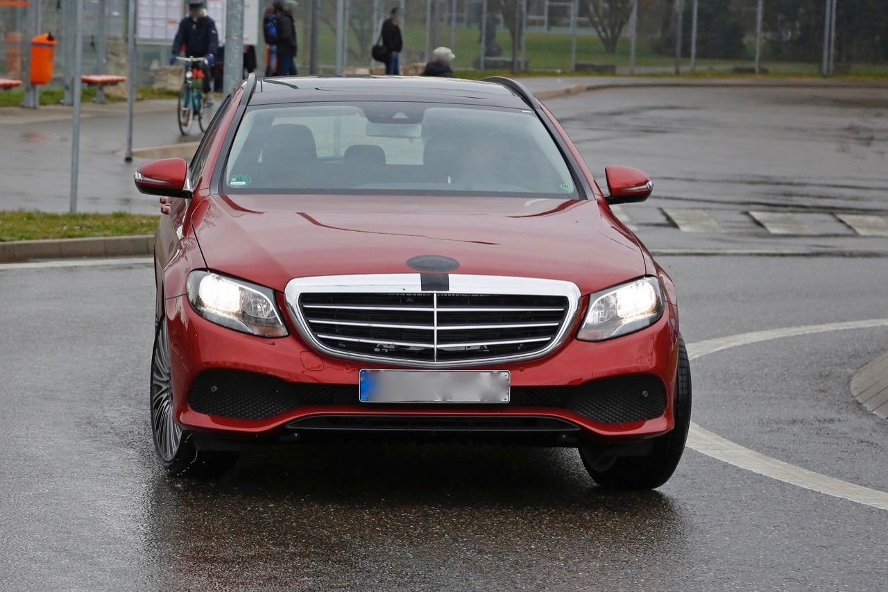 Mercedes Classe E MY 2017 - Foto spia 31-03-2016
