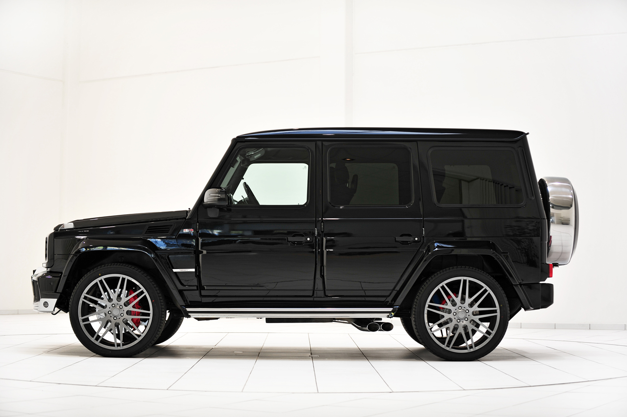 mercedes classe g b63 widestar by brabus foto 5 9. Black Bedroom Furniture Sets. Home Design Ideas