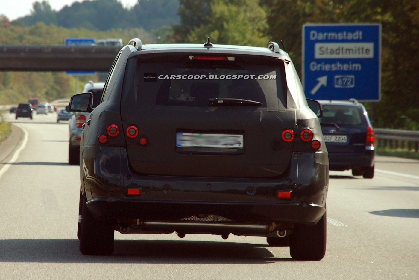 Mercedes Classe ML 2012: foto spia