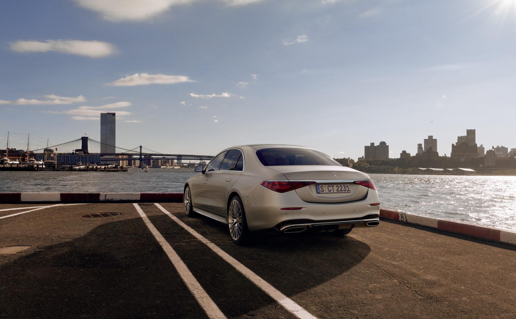Mercedes Classe S - Hamilton - Keys