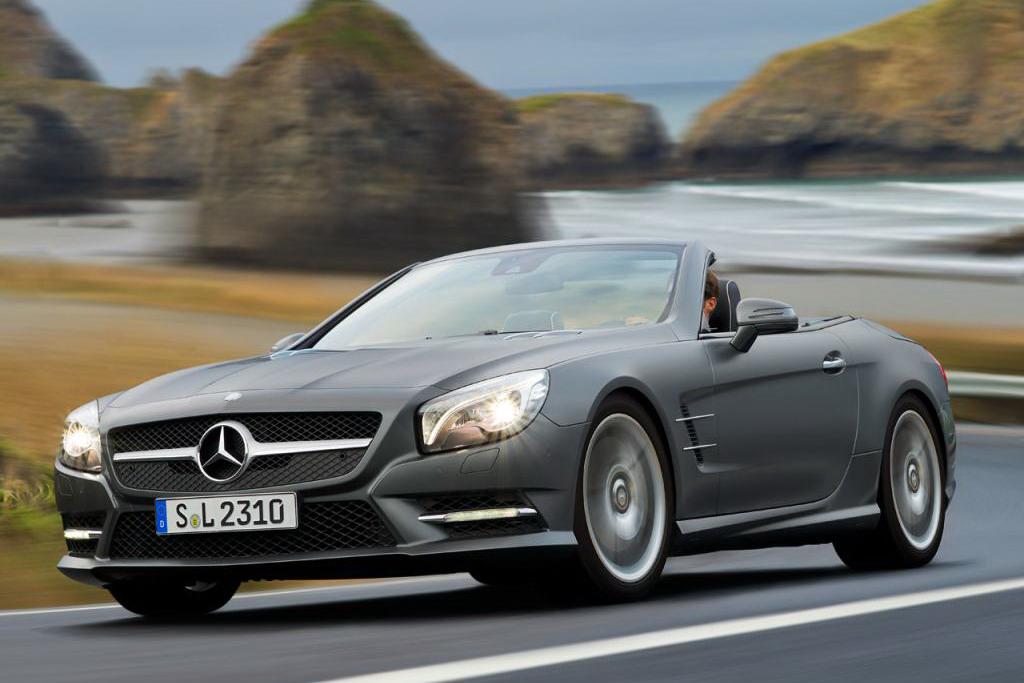Mercedes Classe SL 2013 - Foto ufficiali