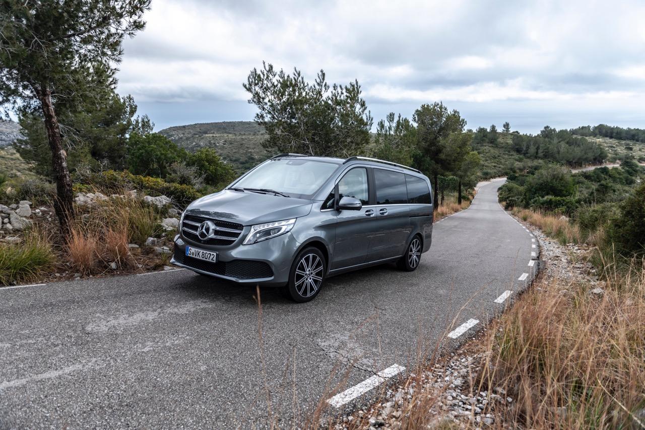 Mercedes Classe V 2019 - Foto ufficiali