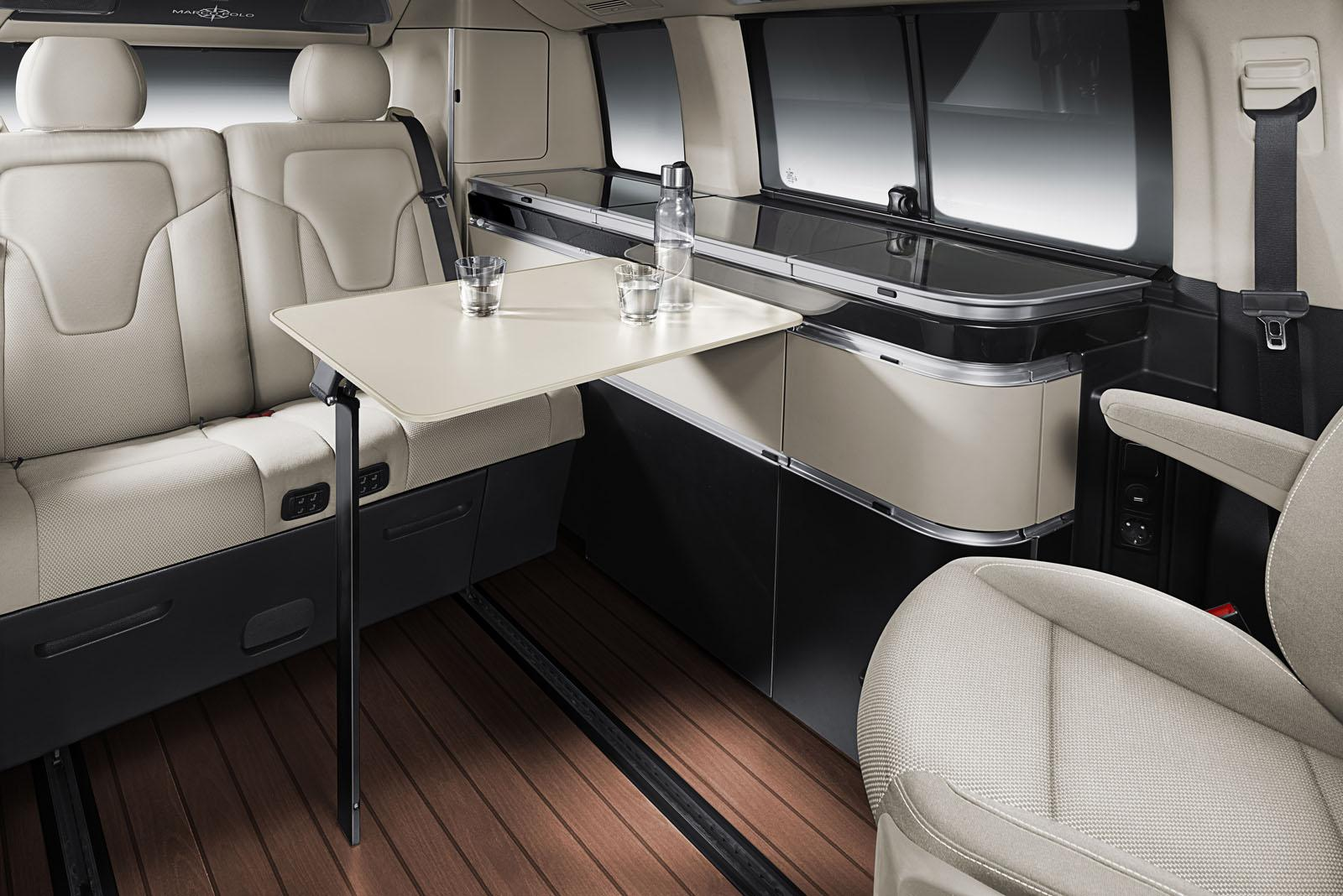 mercedes classe v marco polo 3 4. Black Bedroom Furniture Sets. Home Design Ideas