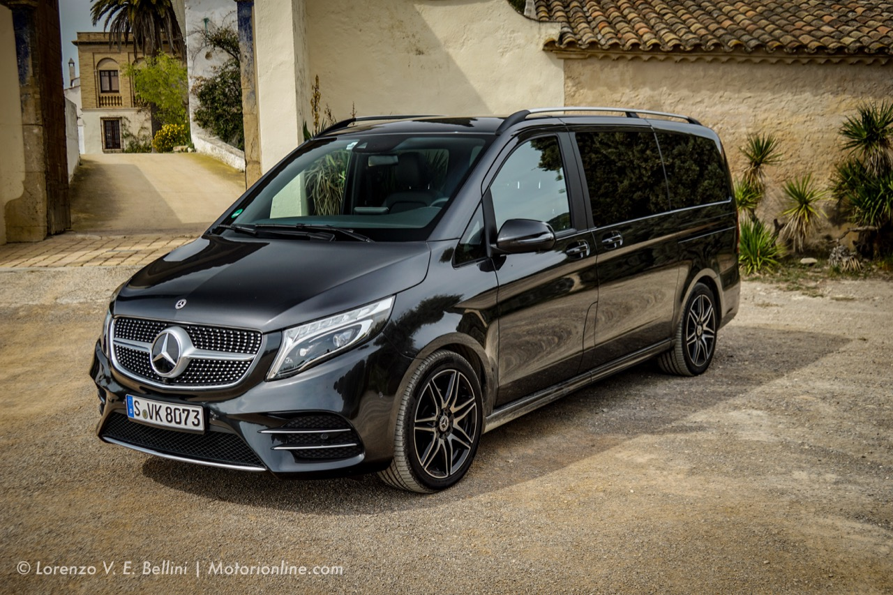 Mercedes Classe V MY 2019 - Test Drive in Anteprima