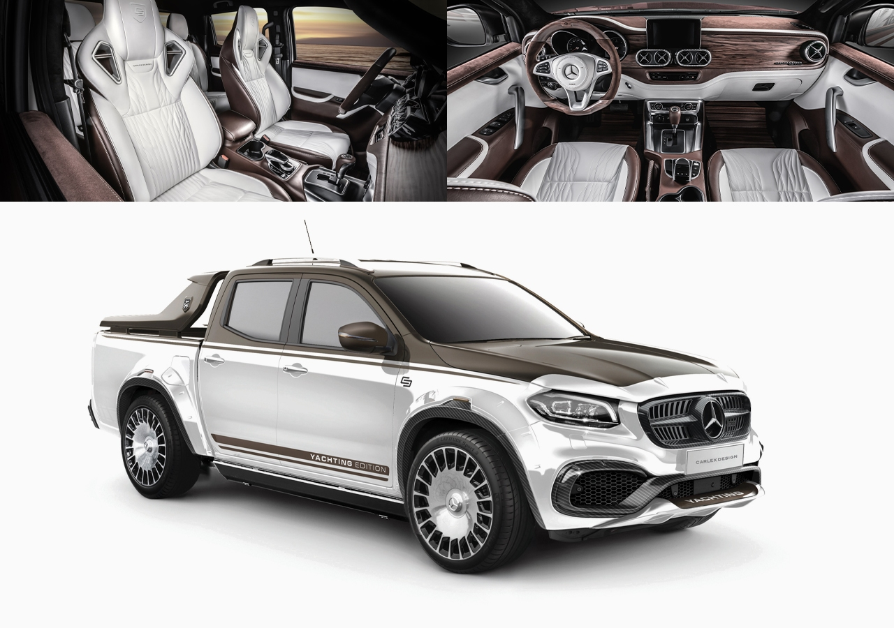 Mercedes Classe X by Carlex Design