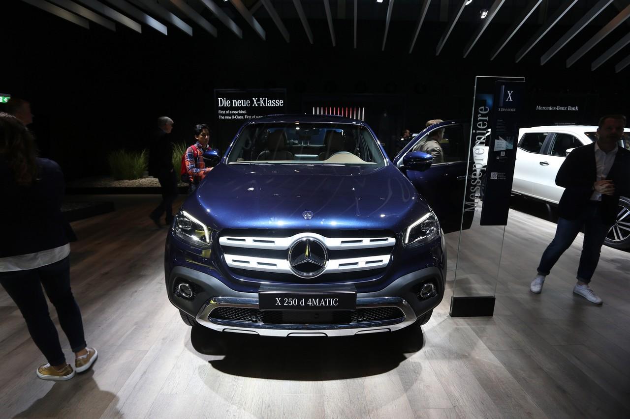 Mercedes Classe X - Salone di Francoforte 2017