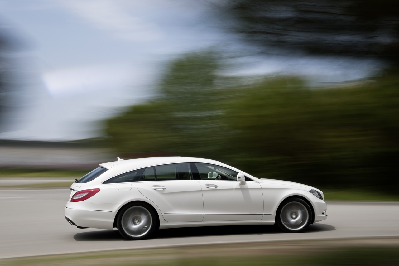 Mercedes CLS Shooting Brake - 2012