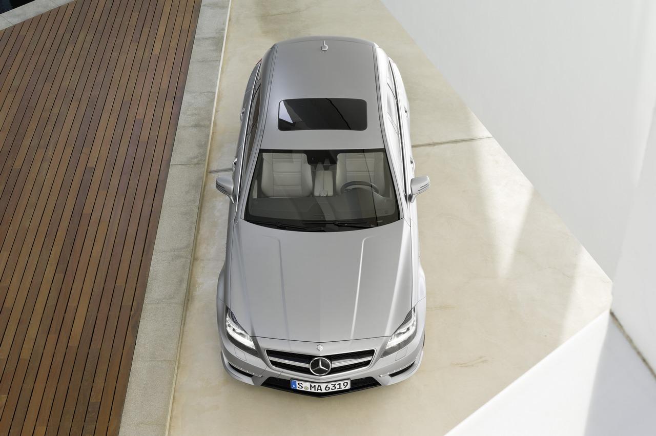 Mercedes CLS Shooting Brake - 2012