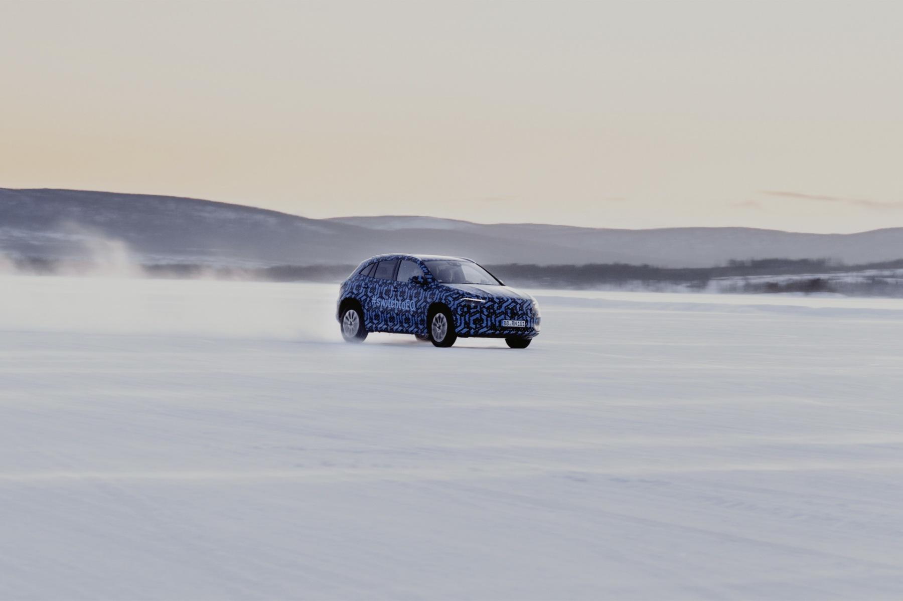 Mercedes EQA - Prototipo