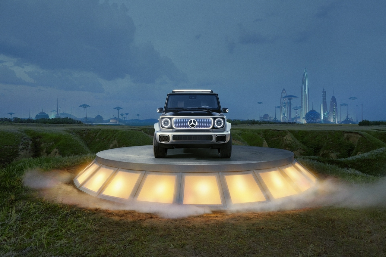 Mercedes EQG Concept - Foto ufficiali