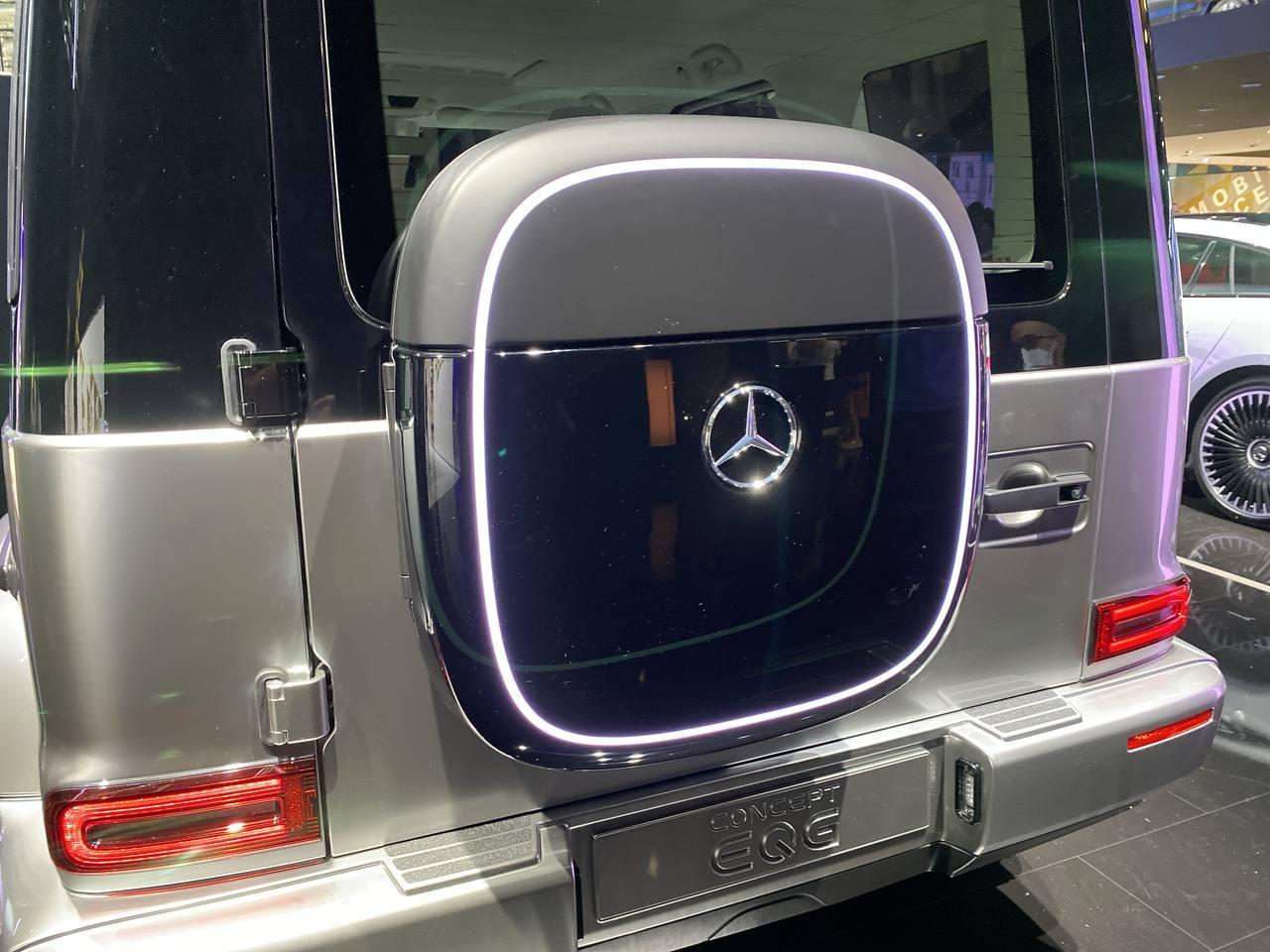 Mercedes EQG - Salone di Monaco 2021