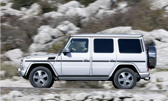 Mercedes G restyling 2012
